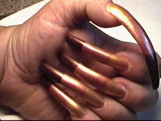 Длинные не красивые ногти