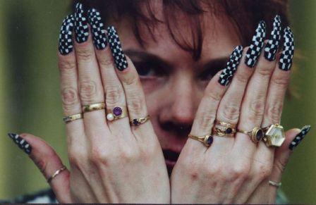 Кошмарный дизайн на ногтях
