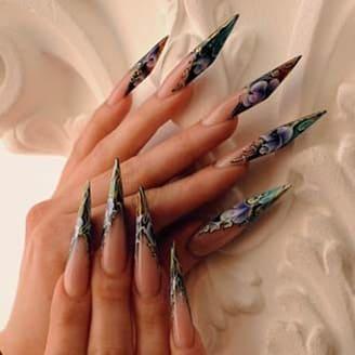 Форма ногтей Бриджит