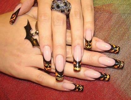 Дизайн ногтей к Хеллоуину