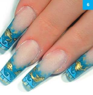 Дизайн ногтей квадратных ногтей