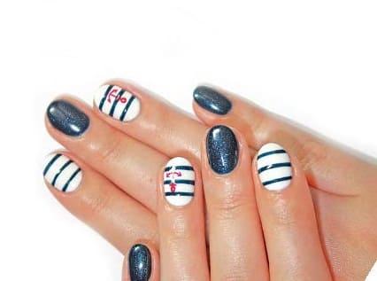 3 примера выполнения дизайна ногтей гель-лаком.