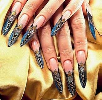 Форма ногтей Дрим