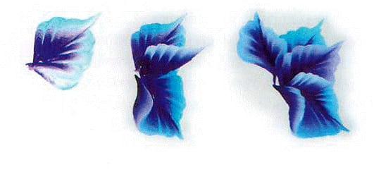 Пошагово - китайская ропись ногтей