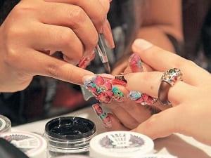 Конкурс ногти дизайн 19