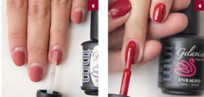 Как наносить гель-лак на нарощенные ногти
