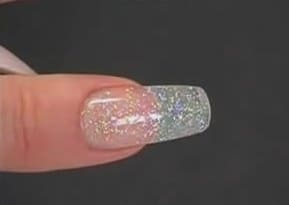 Наращивание ногтей верхними формами