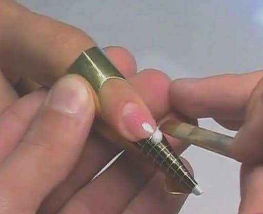 Как делают наращивание ногтей гелем видео уроки