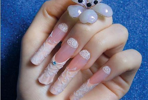 дизайн ногтей французский маникюр фото