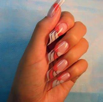 Название формы ногтей при наращивании фото