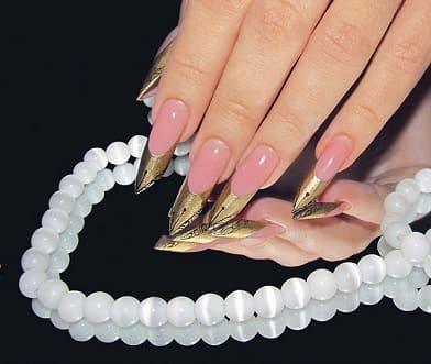 Названия форм нарощенных ногтей фото