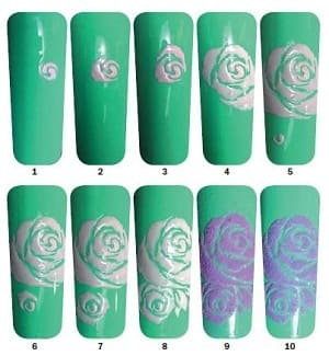 Порядок выполнения дизайна ногтей