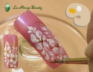 Смотреть уроки росписи ногтей