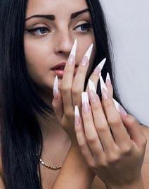 Различные формы ногтей