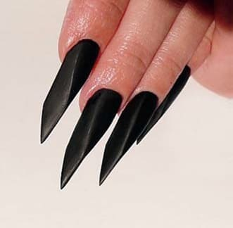 Форма ногтей Стрейт