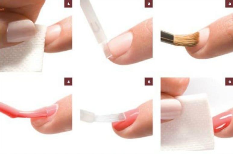 Как правильно покрыть ногти гель лаком видео